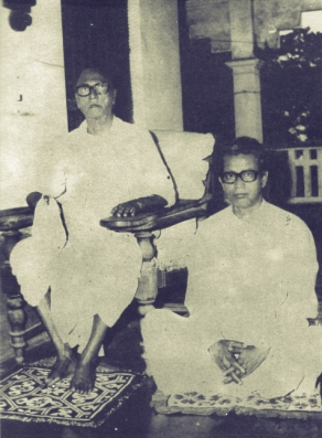 SCSMath Sridhar and Govinda Maharaja Young